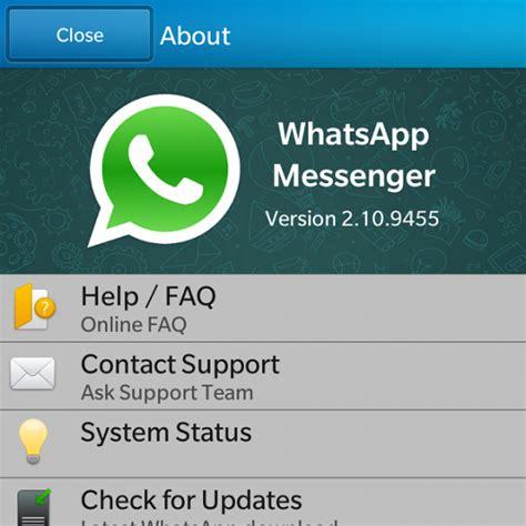 whatsapp wallpaper update whatsapp messenger for blackberry 10 gets a nice update