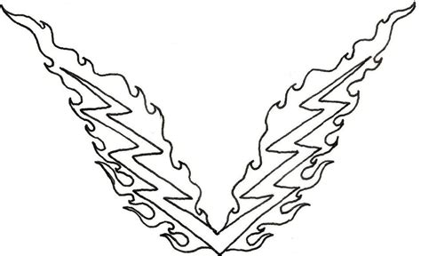 free coloring pages of flame tattoos