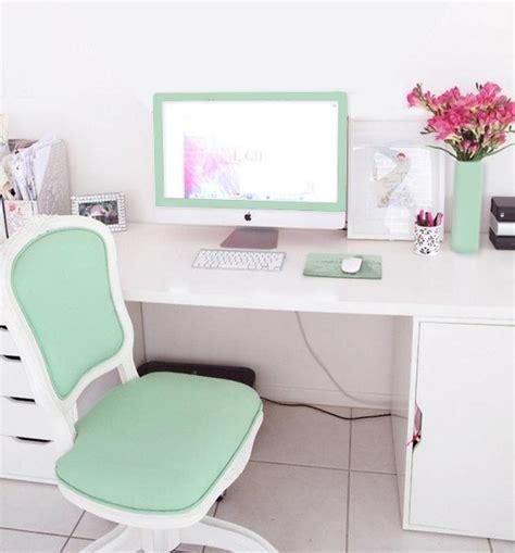 mint green desk chair aqua green mint themed office the chair