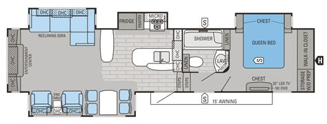 jayco eagle 5th wheel floor plans 2015 eagle premier floorplans prices jayco inc