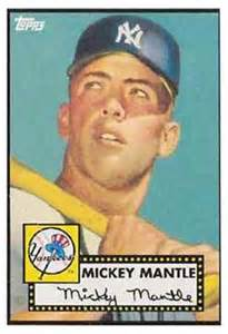 the story behind the 1952 mickey mantle rookie card   newsday