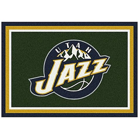 nba rugs nba utah jazz spirit rug bed bath beyond