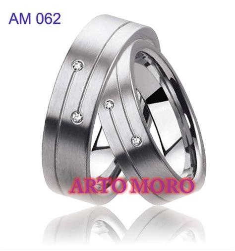 Cincin Kawin Palladium Dan Perak R3496 cincin kawin tunangan