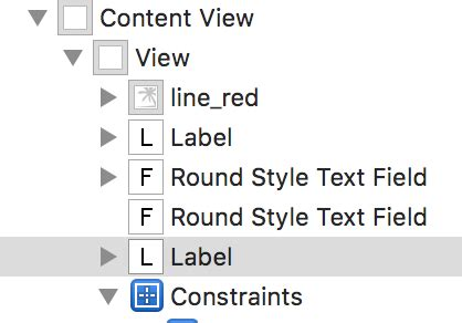 xcode horizontal layout xcode how to auto layout labels and textfields