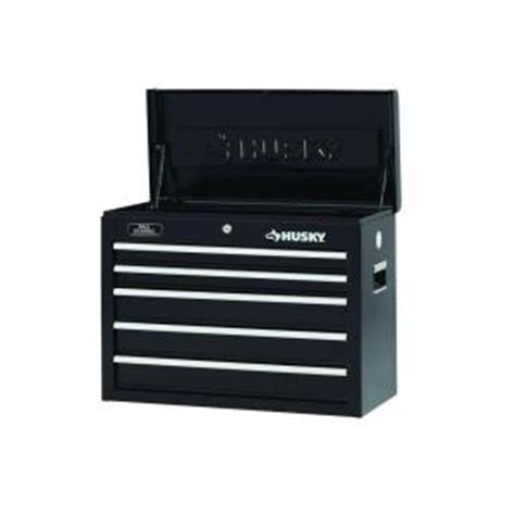 Rent To Own Husky 26 Inch 5 Drawer Tool Chest Textured Black by Husky 26 Inch Black 5 Drawer Chest At Tool Realm