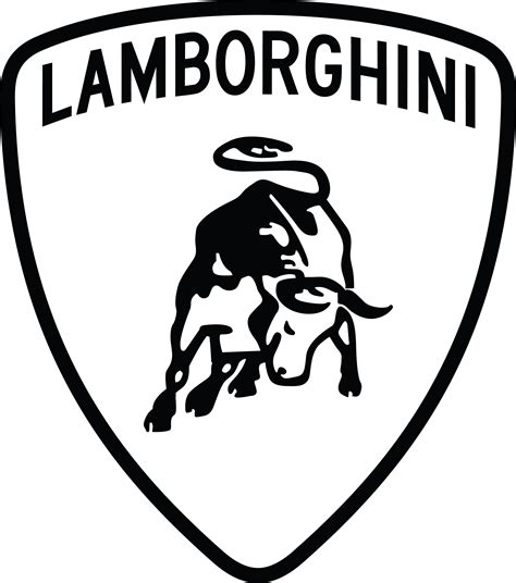 Lamborghini Logo Black Porsche Logo Vector Search Brands
