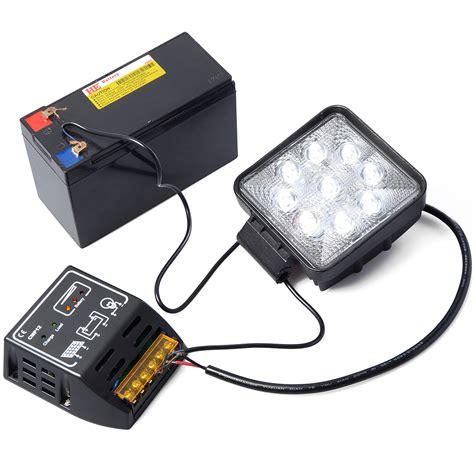solar regulator charger 10a 12v 24v solar panel battery power charger controller