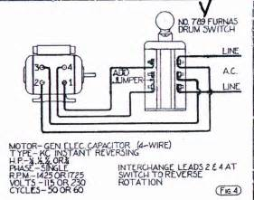 7 best images of reversing drum switch diagram single