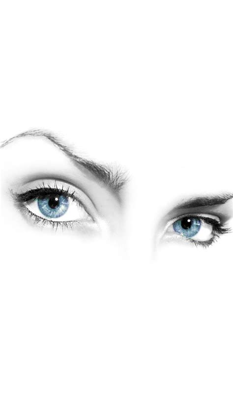 mystery woman eyes  white background iphone  wallpaper