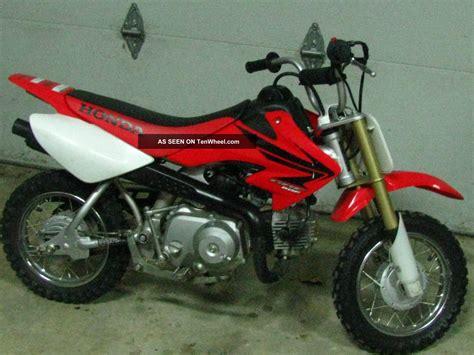 50cc Honda Dirt Bike by 2007 Honda Crf 174 50f Dirt Bike