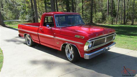 truck bed cer for sale 1970 ford f100 ranger xlt short bed pickup show truck