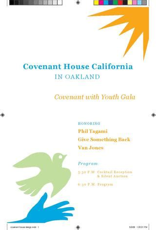 covenant house 2008 gala event booklet by trak field issuu