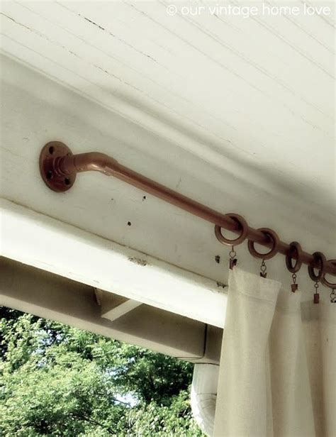 how to spray paint curtain rods 17 best images about back porch on pinterest pvc pipes