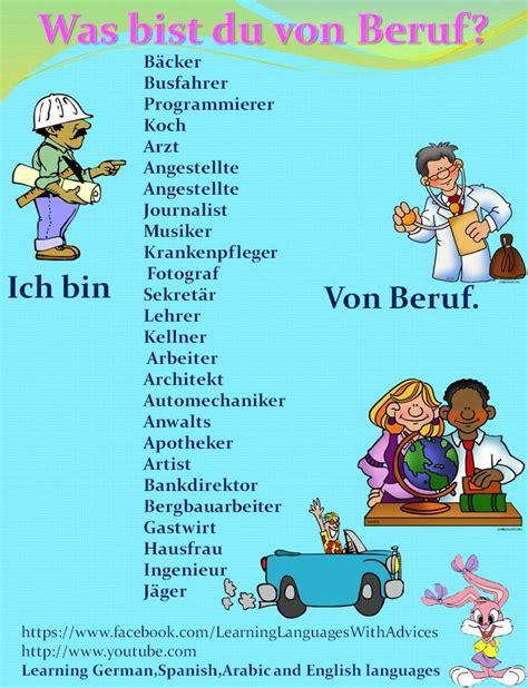 Bewerbung Englisch Hausaufgabe Die Besten 17 Ideen Zu Berufe Auf Englisch Deutsche Schule Und