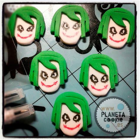 imagenes joker caritas pintar con rotuladores comestibles planeta cookie
