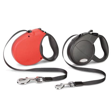 best retractable leash the best retractable leash hammacher schlemmer