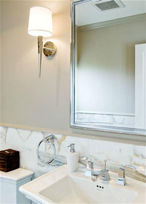 mocha walls transitional bathroom sutro architects