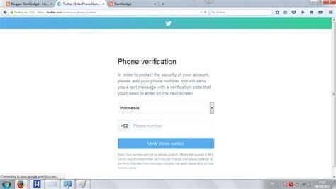 Membuat Akun Twitter Jadi Verified | cara membuat akun twitter yang baru rian4gadget
