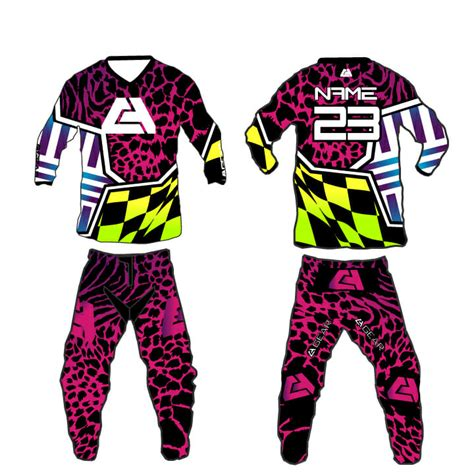 motocross gear sets ca gear quot madness quot motocross gear set custom apparel inc