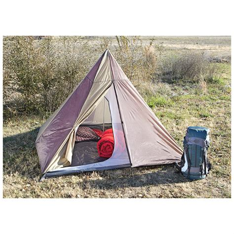 Light Weight Tents by Guide Gear Backpacking Teepee Tent 582128 Backpacking