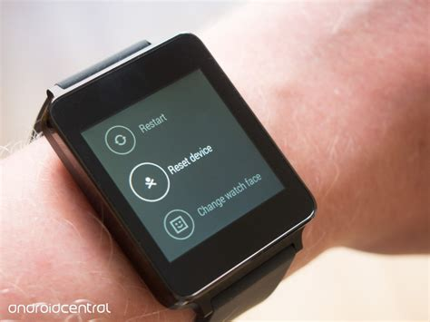 reset your android how to factory reset your android wear watch android central