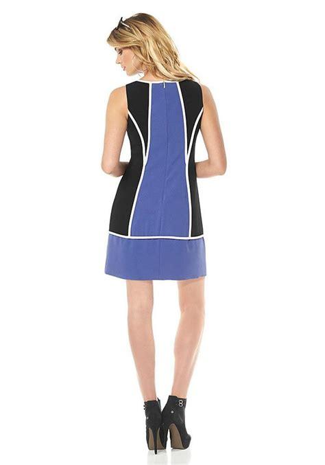 kleid schwarz blau designer kleid blau schwarz trendige kleider f 252 r die