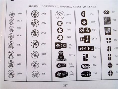 russian gold silver jewelry makers trade marks hallmark