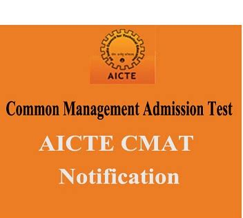 Mba Admission Through Cmat by Cmat 2016 Notification Catking