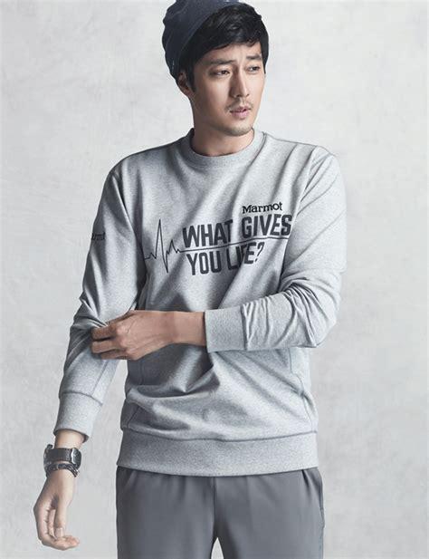 so ji sub home marmot s s 2015 ads feat so ji sub so ji sub photo