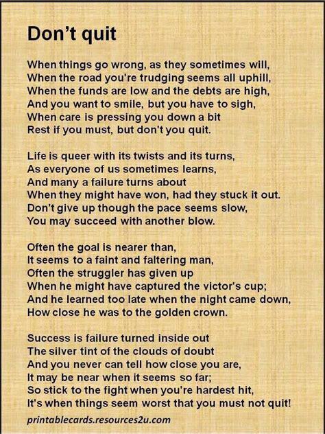 Don T Quit don t quit quotes