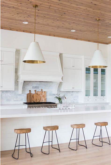 White Kitchen Lighting 20 Ideas On How To Design A Transitional White Kitchen Home Bunch Interior Design Ideas