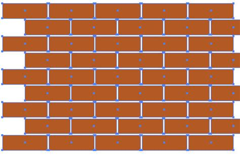 ai create pattern swatch how to create a brick seamless background in adobe illustrator