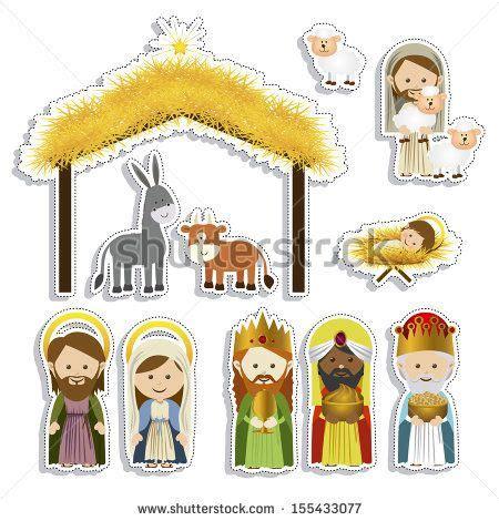 imagenes del nacimiento de jesus para imprimir christmas design over white background vector illustration
