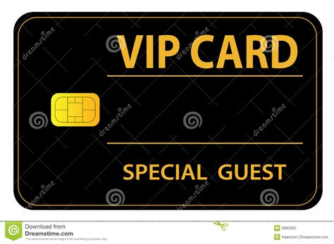 Guest Pass Card Template by Vip Card Royalty Free Stock Photo Image 6983355