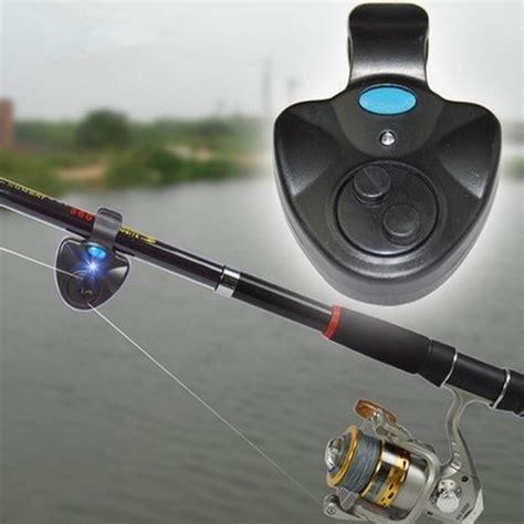 Ujs Led Electronic Fish Bite Finder Alarm Alert Light On Fishingr universal fishing alarm set wireless electronic fish bite alarms finder led light sound alert