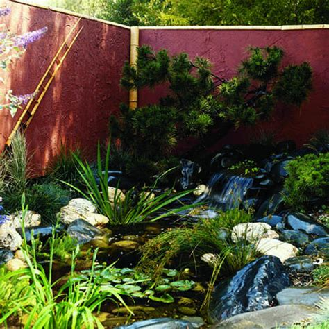 How To Make A Backyard Waterfall by Create A Waterfall Garden In 6 Steps Sunset