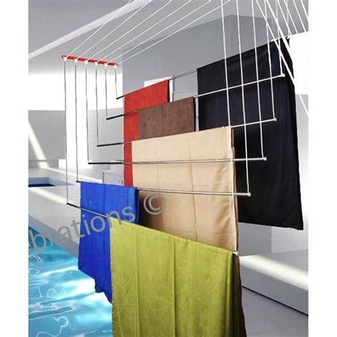 Ceiling Cloth Dryer by Ceiling Mounted Clothes Drying Rack Hyderabad Ceiling
