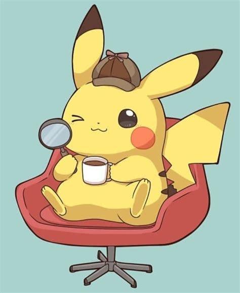 detective pikachu cute pikachu pikachu art pikachu chibi