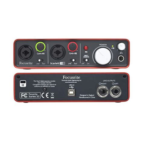 Focusrite 2i2 2nd Audio Interface focusrite 2i2 buy 2nd focusrite 2i2 audio interface