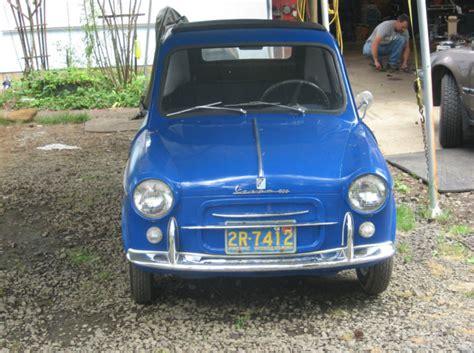 Vespa 400 Car For Sale by Classic Italian Cars For Sale 187 Archive 187 1960 Vespa 400