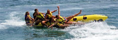 banana boat ride port dickson banana boat en tossa de mar