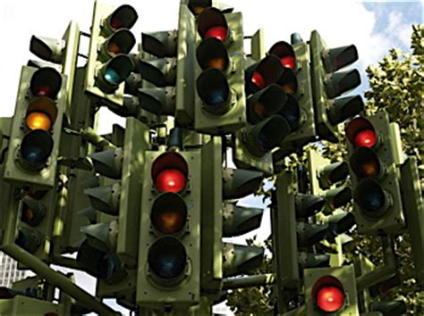 no green light for driver with traffic signal remote