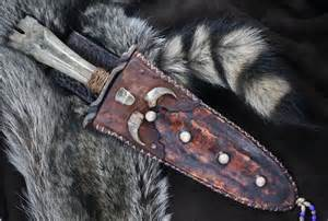 Mountain man knife bear slayer