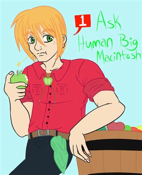 mlp big mac as human mlp ask human big macintosh by akatsukiyaoiluvr on deviantart