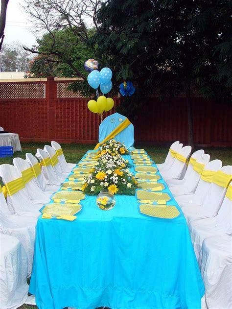 Tischdeko Hochzeit Blau by Tischdeko Blau F 252 R Hochzeiten Jubil 228 En Und Andere