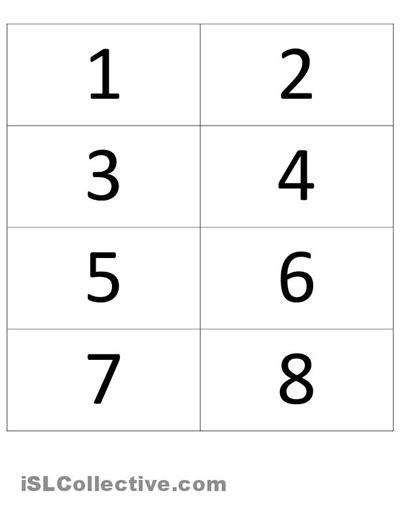 printable numbers 1 30 16 best images of esl numbers worksheet kindergarten