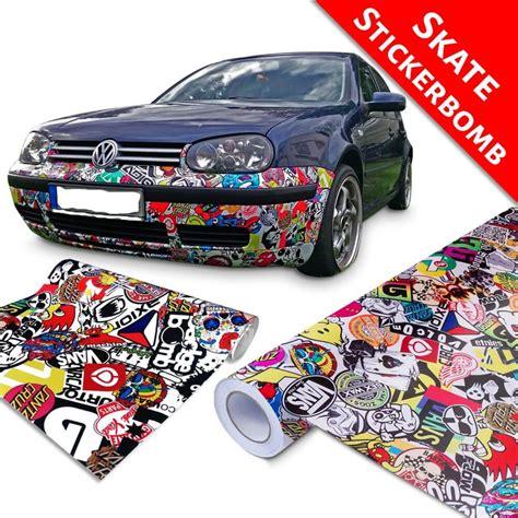 Folie Auto Ebay by Neu Stickerbomb Folie Jdm Autofolie Sticker Bomb 3d