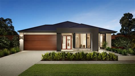 Facade De Maison Moderne 4296 by Contemporary Style Home Brisbane Omni Built Homes Brisbane