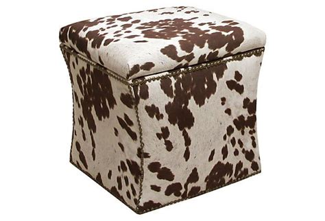 cowhide storage ottoman houseofaura com ikea cowhide ottoman furniture add a