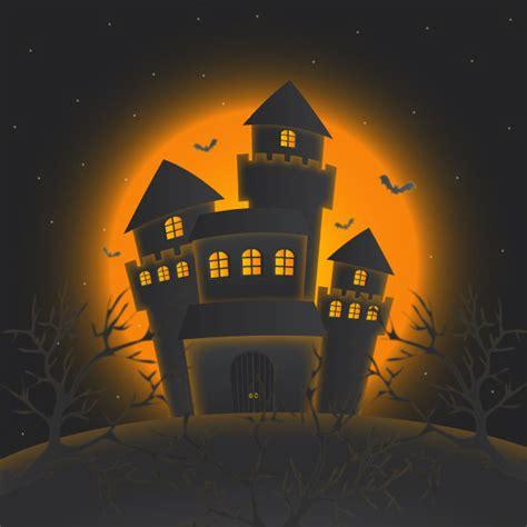 tutorial illustrator halloween how to create haunted castle for halloween with illustrator